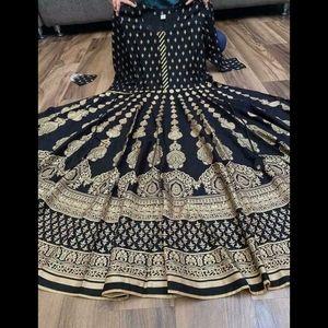 Indian dress Flared Anarkali Kurta Kurti Bollywood